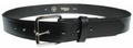 "Boston Leather 1-1/4"" Off Duty Leather Belt w/ Extra Layer of Leather Lining"