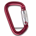 "1/2"" Aluminum Modified D Quik-Lok w/ Captive Eye Red, NFPA"