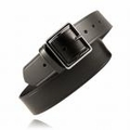 "Boston Leather 1-3/4"" Garrison Leather Belt w/ Extra Layer of Leather Lining"