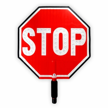 12 inch STOP/STOP Sign