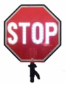 18 inch LED Stop/Slow Sign