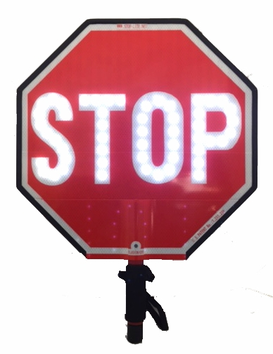 18 Inch Stop Lite Led Stop Sign