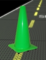 """18"""" Lime Road Cone"""