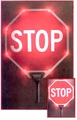 "18"" STOP/STOP Sign Lighted"