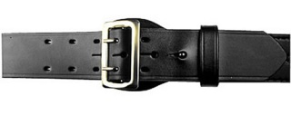 "Boston Leather 2-1/4"" Inch Half Lined Sam Browne Leather Belt"