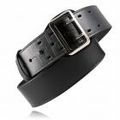 "Boston Leather 2-1/4"" Sam Browne Leather Belt (Value Line)"
