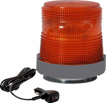 201ZMQ LOW PROFILE STROBE BEACON MAGNET MOUNT, QUAD FLASH