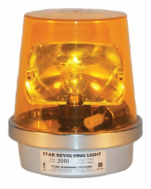 Star 20RI Standard Duty Rotating Incandescent Light
