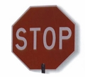 "24"" STOP/SLOW Sign No Staff"