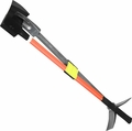 "30"" Halligan 6 lbs Flat Axe,Hiviz Orange Fiberglass Handle w/Strap"