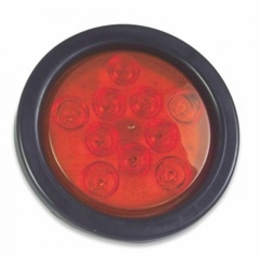 "Weldon 4"" Stop & Tail Grommet Mount Red"
