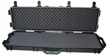 "41153 - Black 53"" HARD RIFLE CASE WITH WHEELS"