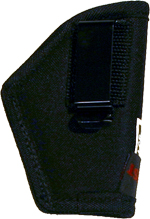 48025BLK - 25 BLACK IN PANT HOLSTER