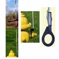 "60"" Side Mount Fire Hydrant Marker with spring"