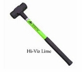 "6lbs Hall Sledge (HIVIZ LIME) 24"" Handle w/Reflective Tape"