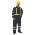 7 oz. Fire Rated Cotton Coveralls with Reflective Trim