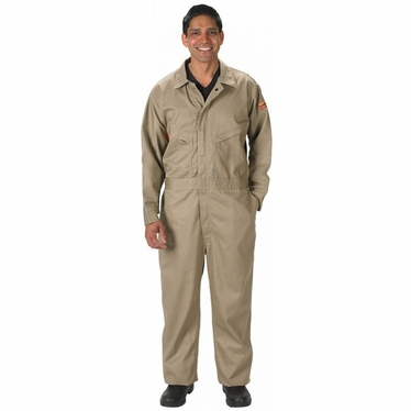 7 oz. Vented Back FR Cotton Coveralls