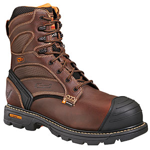 """Thorogood 8"""" Plain Toe - Waterproof/Insulated - Composite Safety Toe"""