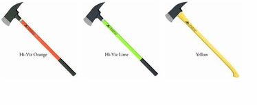 "8lbs Pick Axe 36"" Handle w/Reflective Tape"