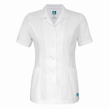 Adar Universal Lapel Collar Buttoned Top