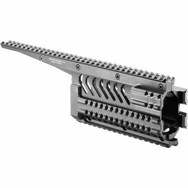 ALUMINUM 6-RAIL INTEGRATED RAIL SYSTEM FOR GALIL - VFR-GA