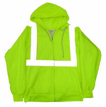 ANSI Class 2 Thermal Hooded Sweatshirt