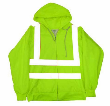 ANSI Class 3 Thermal Hooded Sweatshirts