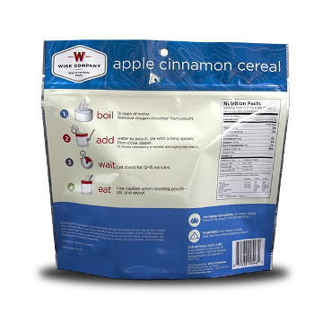 Apple Cinnamon Cereal (Case of 6)