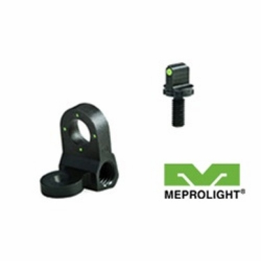 AR15/M16 NIGHT SIGHTS - PEEP REAR AND POST FRONT