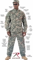 Army Combat Uniform Shirt Mil Spec