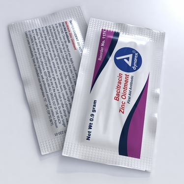 Bacitracin Zinc Ointment - 0.9 g packet 12 boxes of 144