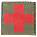 Blackhawk! Red Cross ID Patch