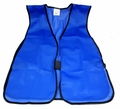 Blue Mesh Safety Vest
