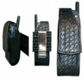 Boston Leather Cell Phone Holder w/ Clip 5570