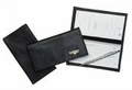Boston Leather Checkbook Covers & Business Card Holders