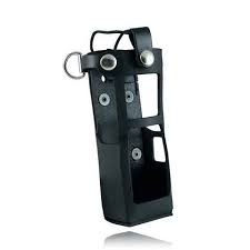 Boston Leather Radio Holder for the Motorola APX 6000xe with Extended Battery