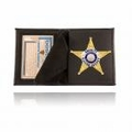 Boston Leather Wallet and Badge Cases