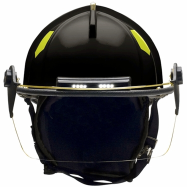 Bullard Traditional Fire Helmet  - Matte Finish with TrakLite