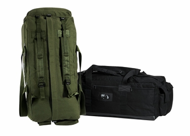 Canvas Mossad Duffle Bag