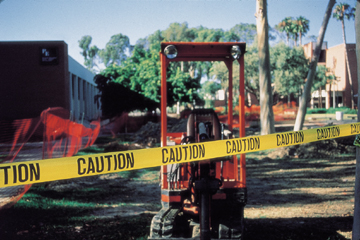 CAUTION Barricade Tapes