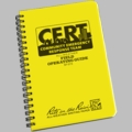 CERT Field Operating Guide Polydura 4 5/8 in x 7 in
