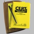 CERT Kit F.O.G and Forms Book Black All Weather Pen Pen & Pencil