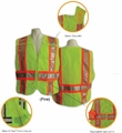 Class 2 Breakaway Vests ANSI 207-2006 Fire/Rescue