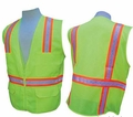 Class 2 Multi-Pocket Surveyor's Vest (Fully Meshed Back)
