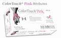 Color Touch Pink Powder Free Latex Gloves