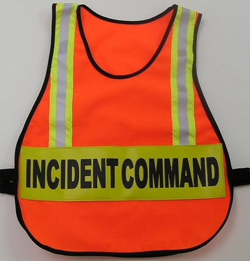 Command Vest with Reflective Stripes