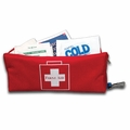 Compartment First Aid Bag Red