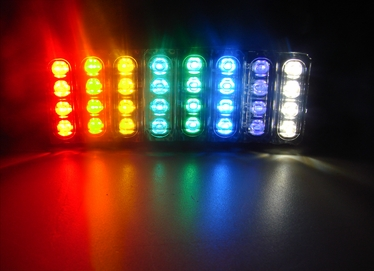 """D04 Linear Dragon Lights: Compact, powerful LED accent lighting 9"""" Wire"""