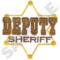 Game Sportswear Deputy Sheriff Embroidery