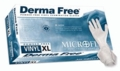 Microflex Derma Free Powder Free Vinyl Gloves (Case of 10)